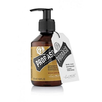 proraso beard wash wood and spice salon miranda spijkenisse