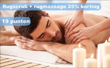 Rugscrub+rugmassage salon miranda spijkenisse