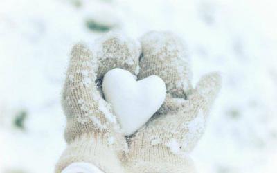 Mooie winterhanden